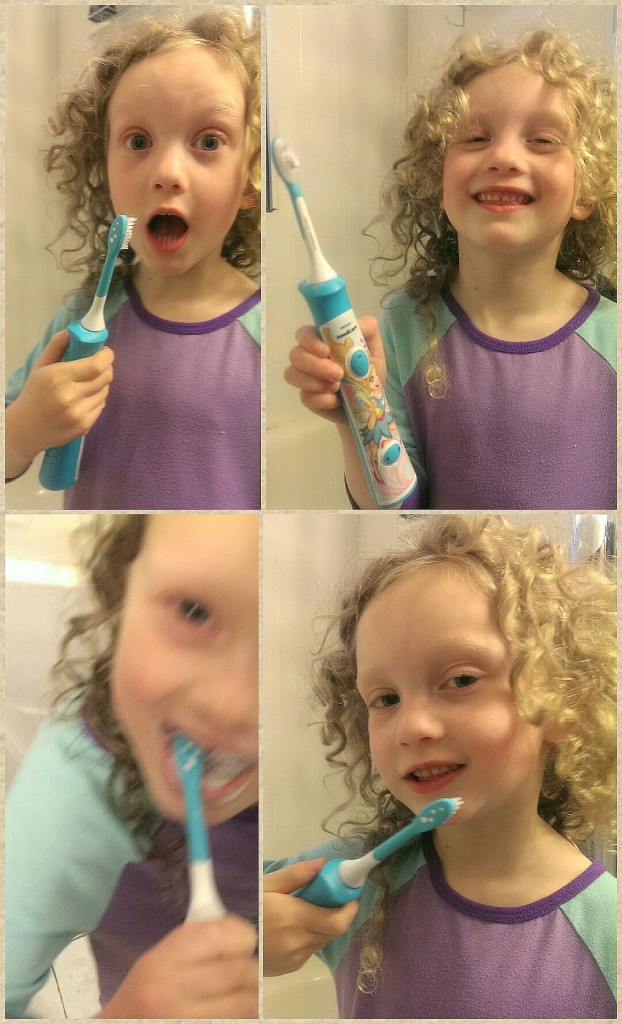 The evolution of kiddie toothbrushing