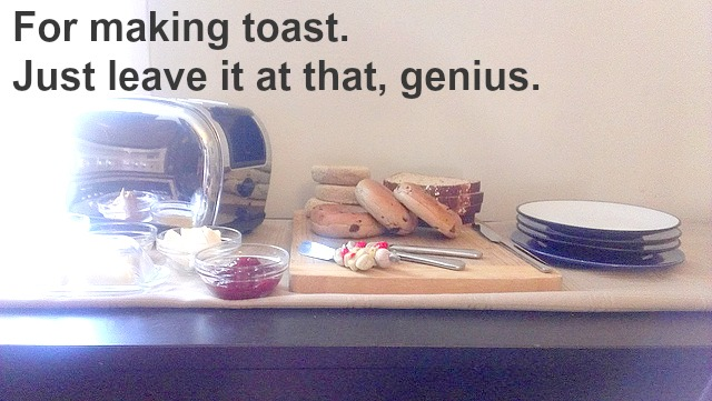 for making toast