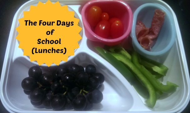 The Four Days of School (Lunches)