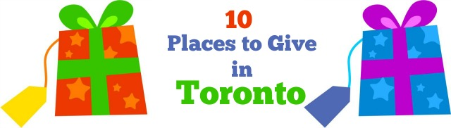 10 places to give in Toronto
