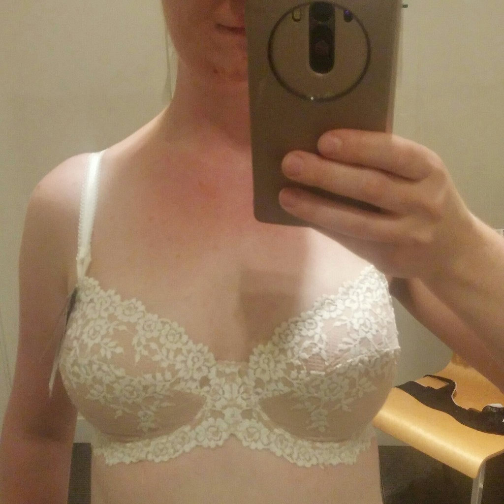 'm never guessing my bra size again. My new bra is heaven except better.