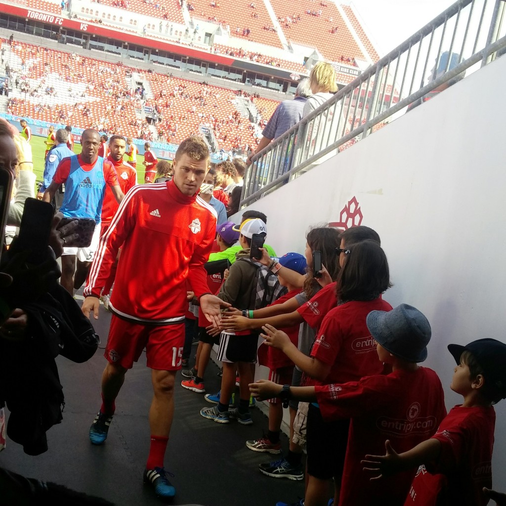 TFC players' tunnel