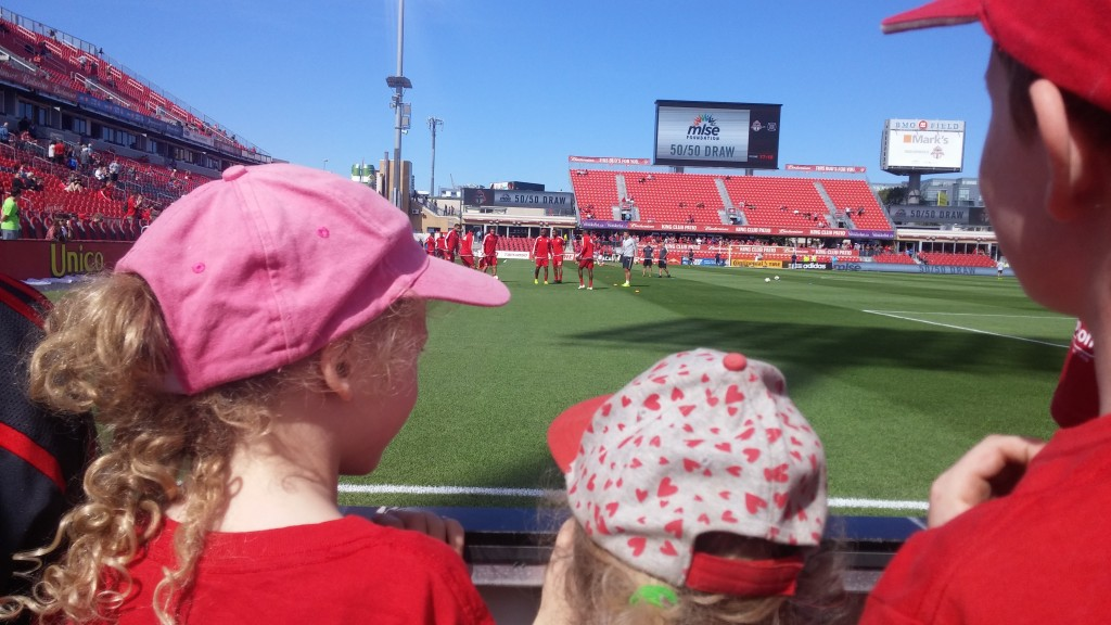 TFC warm up field level