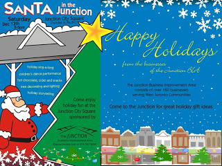 Santa in the Junction Event