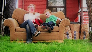 Front lawn couch